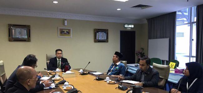 Sesi Perbincangan dua hala di antara Majlis Agama Negeri Pulau Pinang (MAINPP) dengan Waqaf An Nur Corporation Berhad (WANCORP)